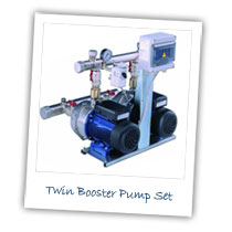 Twin Booster Pump Set